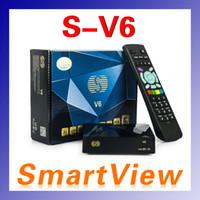 Cheap Wholesale-S-V6 Mini Digital Satellite Receiver S V6 Skybox V6 with AV HDMI output Support 2xUSB WEB TV USB Wifi 3G Biss Key Youporn