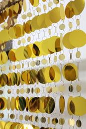 Wholesale expédition en gros gratuit PVC rideaux de paillettes rideau articles ménagers partitions de plastique libre amovible