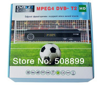 Cheap Wholesale-New 1pcs DVB T2 tuner MPEG4 DVB-T2 HD Compatible with the DVB-T H.264 TV Receiver w  RCA   HDMI For RUSSIA EUROPE