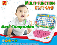 baby educational games - Toy Computer Laptop Tablet Baby Children Educational Learning Machine Toys Electronic Notebook Kids Study Game Pad Music Phone