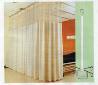 Wholesale Factory Direct hospital curtain yellow drapes for hospital beds or living room