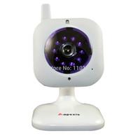 Precio de Noche carcasa de la cámara de visión-Cámara envía al por mayor-libre Mini IP con visión nocturna, Cámara DETECTON y Alerta por correo electrónico, la cámara IP ápices de Monitoreo Casa