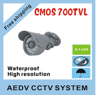 av day - best price CMOS TVL IR led Day night waterproof outdoor indoor CCTV dome camera AV C