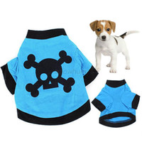 bandanas uk - Dog Puppy Pet Clothes UK Flag Stripes T Shirts Tops Summer Costume XS S M L XL