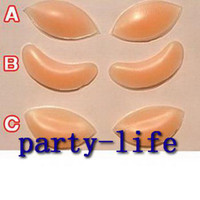 Silicone Breast Lift Up Enhancer Bra Insert , 50pairs lot