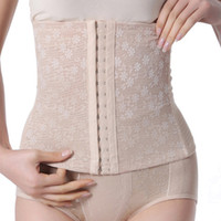 Wholesale Women Slim Underbust Belt Multi Breasted Postpartum Waist Abdome Control Corset amp Drop shipping