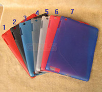 Wholesale Anti skidding TPU case protector for Table PC Ipad hot sell