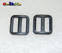 glide - Pack quot Plastic Black Slider Tri Glide Adjust Buckles For Dog Collar Harness Backpack Straps Webbing mm FLC092 B
