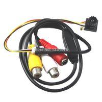 "Cheap Wholesale-New 1 4 "" HD sensor 600TVL Mini audio video Camera CMOS CCTV micro home security Camera 1280 X 960 High Resolution"