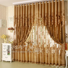 Wholesale Modern Fashion High Quality Window Screening Curtain Finished Product Window Curtains Jacquard Curtains for Living Room