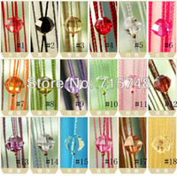 Wholesale listed in stock New Drop Beaded String Door Window Curtain Divider Room Blind Tassel Fly Screen