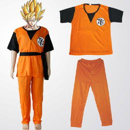 Wholesale Halloween child Dragon Ball Z GoKu Letter GUI Cosplay Costume Fancy Party clothing for Kid