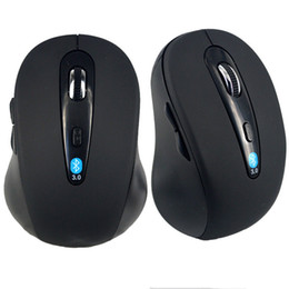 Wholesale Wireless Bluetooth Mouse Mice For Apple Windows XP Vista Laptop Notebook