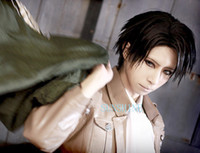 b type star - Attack on titan fashion LEVI cosplay wig Shingeki no Kyojin cosplay wig type B