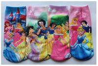 baby girl babywear - New Baby Kids Childrens Cotton Socks For years Girs Cartoon Princess Fashion Babywear