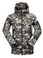 acu windbreaker - Stealth hoodie waterproof hoody windbreaker jacket soft shell men s jacket V4 ACU