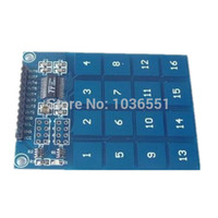 arduino capacitive sensor - key TTP229 Capacitive touch sensor module switch digital touch sensor for Arduino