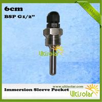 solar water heater controller - BSP G1 quot cm mm Inner Diameter Immersion Pocket for Solar Water Heaters and Solar Water Heaters Controllers