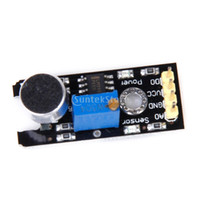 analog microphone - New Brand New Analog Sound Sensor Module Microphone MIC Controller for Sound Detecting