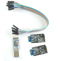 Wholesale in Kit Dual mode Bluetooth Module with Base Board HM13 BLE SPP LE Serial HM USB to TTL Cable for iPhone Android