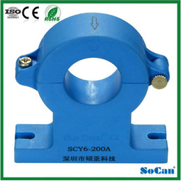 Wholesale A A SCY6 split core hall effect dc current sensor with voltage DC output