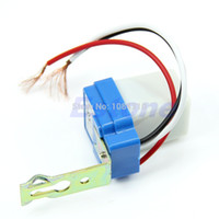 auto optical switch - pc New AC DC V A Photocell Street Light Sensor Switch Photoswitch Auto On Off