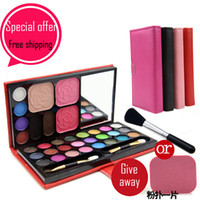 eyebrow shadow - Hot color eye shadow eyebrow powder blusher makeup set anastasia set de maquillaje professional eyeshadow kit contour