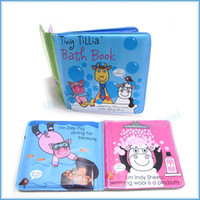 bath books - Baby Plastic Bathtime Bath Book Waterproof Coated Educational Fun Toy Toddler