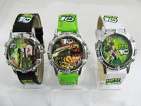 Wholesale Good Quality Mixed Boys Girls Children Wristwatch Ben Cat Spiderman etc Kids Teenagers Gift Watch