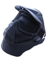 airsoft mask goggles - Full Face Airsoft Goggle Mesh Mask w Neck Protect BK free ship