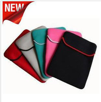 Wholesale 60pcs quot inch Notebook Laptop Case sleeve double side Bag for Asus Acer Dell