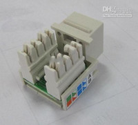 Wholesale CAT e Keystone Jack Rj45 Jack Common with Commscope connector panel