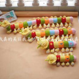 Wholesale quot Cute Plush Caterpillars Toys