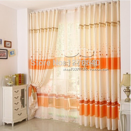 Wholesale Fashion Home Goods Linen Fabric 1 Lot Blackout Curtains With Transparent Sheer Curtain For Living Room Stock Affordable Home Goods Curtains