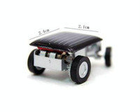 Wholesale Worlds Smallest Mini Solar Powered Racing Car Creative Mini Solar Car Toys
