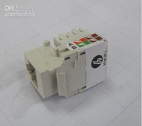 Wholesale CAT e Keystone Jack Rj45 Jack Common with Commscope connector panel White Colors