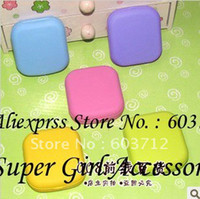 Wholesale Mix Color Contact lens cases with mirror Color contact lence cases