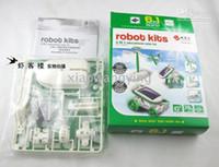 Wholesale HOT in DIY Educational Solar Kit solar toys Car Dog Airboat AirPlane Robot Bestbuy