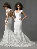 wedding dresses 2011 - 2011 New Design V neck Strapless Open Back Sexy Off the Shoulder Wedding Dresses