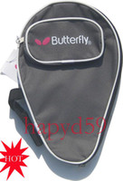 Wholesale New table tennis bag butterfly table tennis racquet cover T T pingpong cover gray