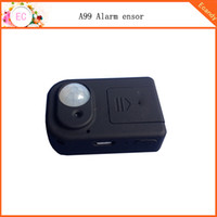 anti theft alarm home - A99 Infrared Sensor Motion Detector GSM Alarm System Anti theft Worldwide Remote video record Human infrared sensor home alarm