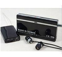 Wholesale- CX- 990 Mini Wireless Voice Transmission Receiver A...
