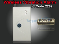 Superior al por mayor de calidad de 5PCS / LOT ventana de la puerta hilos de la vibración de alarma, vidrio inalámbrico detector de <b>sensor</b> de ruptura CE / Rohs Aprobado