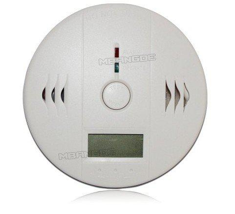 Wholesale-Free Shipping! CO Carbon Monoxide Poisoning Gas Sensor Kitchen Warning Fire Alarm Detector with LCD display