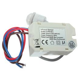 Wholesale Mini PIR Motion Sensor Detector for Timer Relay Automotive Caravan Alarm led light switch degree detection
