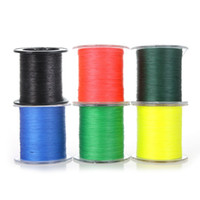 Wholesale Colors M LB mm PE Braided Fishing Line Strong Braided Strands Line