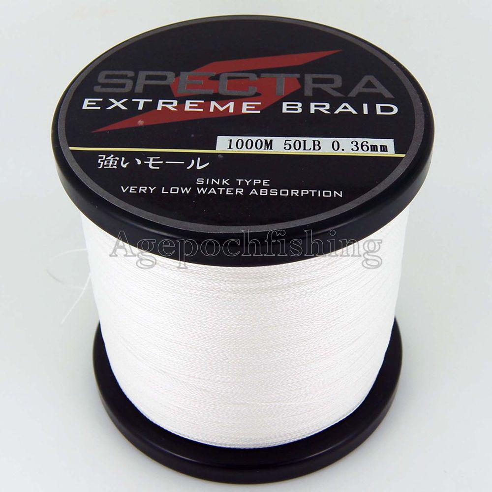 Wholesale discount 4 strands 1000m 50lb braided for Bulk braided fishing line