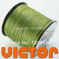 Wholesale Spider Brand Hot M LB Braid Fishing Line Army Green Super Power PE Fiber Japan Material