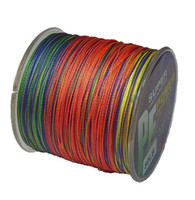Wholesale M per color braided pe fishing line colorful braided soft m fishing lines line for outdoor sports