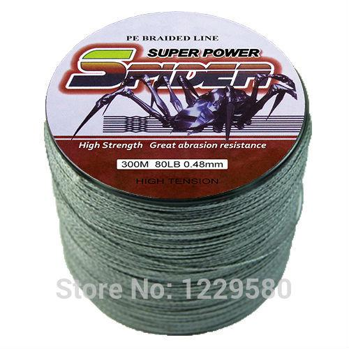 Wholesale spider 2015 multifilament braided wire fishing for Cheap braided fishing line